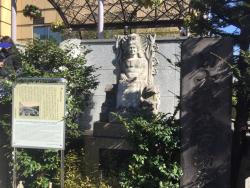 日本橋魚河岸跡の碑 19年3月記事