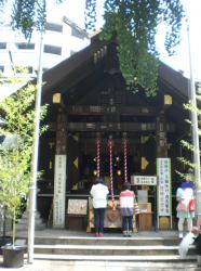 波除稲荷神社 平成通りを歩く記事