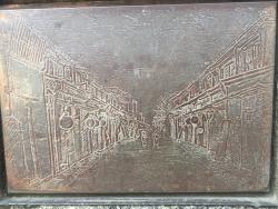 戸越銀座散策 銀座「煉瓦遺構の碑」2