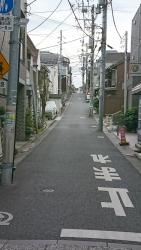 戸越銀座散策 上り坂2