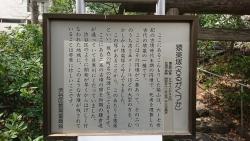 代官山 猿楽神社 説明板