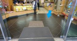 日本橋榮太樓本舗 外側の枠組み