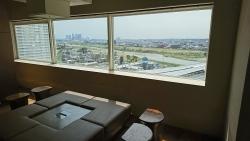 玉川高島屋南館11階 待合スペースからの眺め