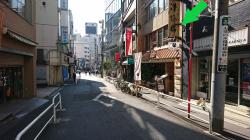 漢陽楼のある通り 神田小川町