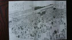 豊島屋を描いた江戸名所図絵 神田散策