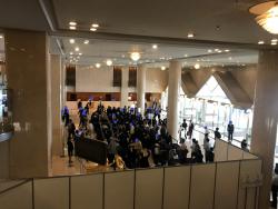 三井物産 ホテル内の様子2 19年株主総会のお土産