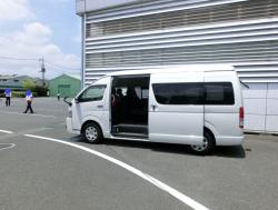帰りのバス 大成ラミック株主総会19年