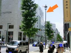 日本最初の電気街灯建設の地1 銀座記事(2)