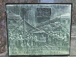 日本最初の電気街灯建設の地4 銀座記事(2)