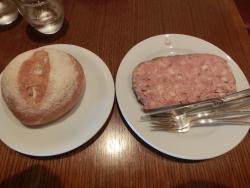 オーボンヴュータン パテとパン
