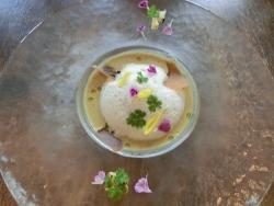 ナチュラム 焼きトウモロコシの冷たいスープ