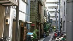 下町の家並み 安平神社裏 銀座記事4