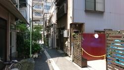 宝珠稲荷神社そばの町並み 銀座記事4