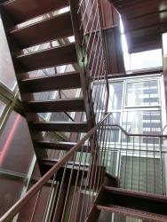 朝日稲荷神社 8階階段 銀座散策5