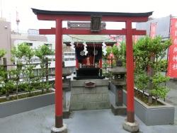 朝日稲荷神社本殿 銀座散策5