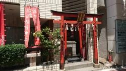 朝日稲荷神社 銀座散策5