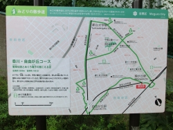 九品仏川緑道散策コース ヌメロサンクパリ