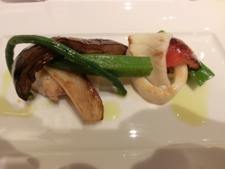 5400円コース魚料理 ピヴォワーヌ