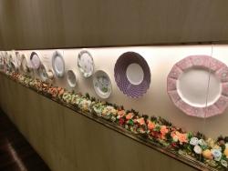 お皿の装飾 モナリザ