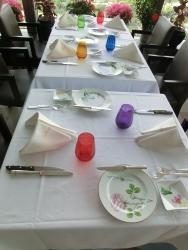 テーブルセッティング2 モナリザ