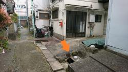 民家の湧水1 横浜山手湧水記事