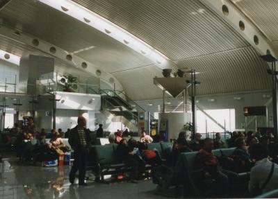 北京の空港 2005年