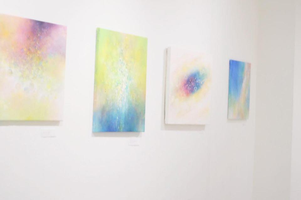 タキナオ個展「移ろうけしき その光の粒」に行きました