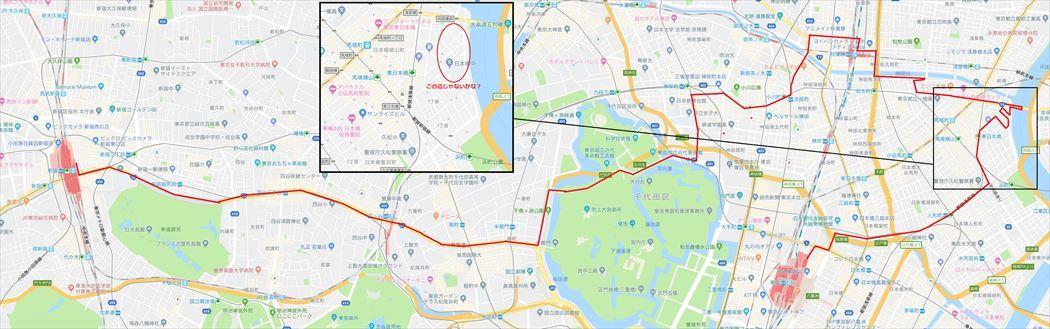 20181125_東京散歩_東京から新宿_R