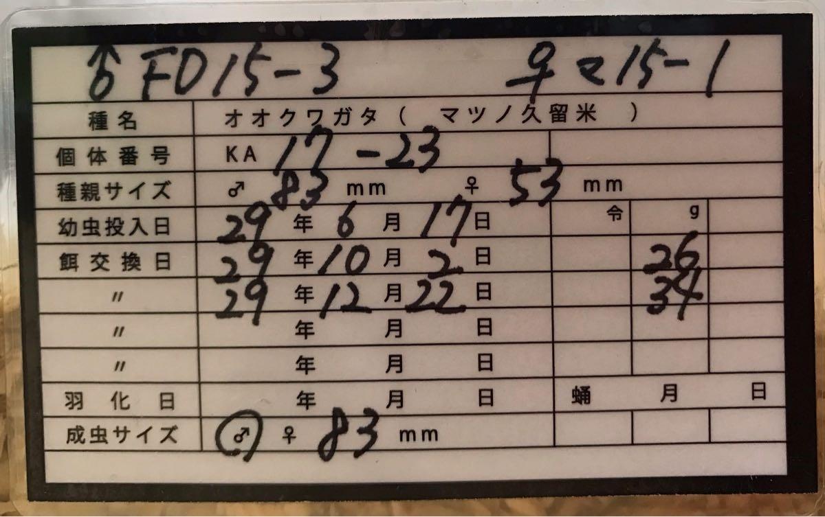 KA17-23 管理表