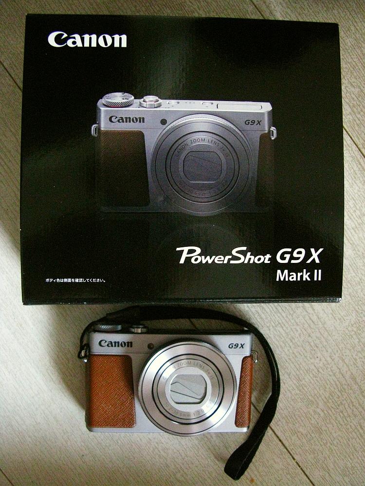 2018_06_27 PowerShot G9 X Mark II シルバー01