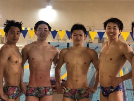 桐蔭横浜大学水泳部-ショートボックス-競パン