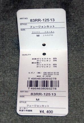 タグ-83RR12513-フュージョンカット-speedo