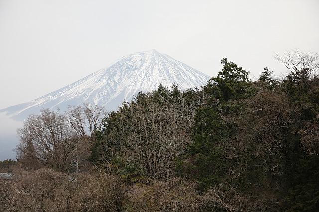 白糸駐車場の富士
