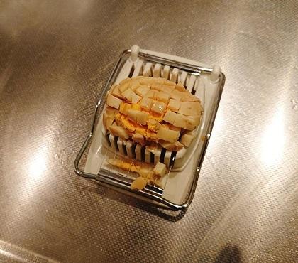 ピーマンの入った和風卵サンド3