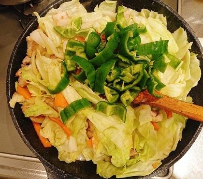 荒岩流野菜いため6