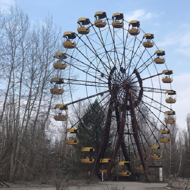 ウクライナチェルノブイリ