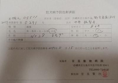 よもぎ医療明細2
