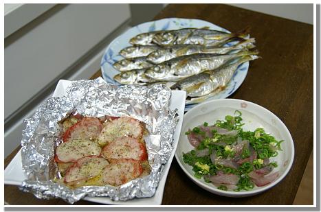 0718-1鯵料理