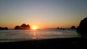 大田子海岸夜景
