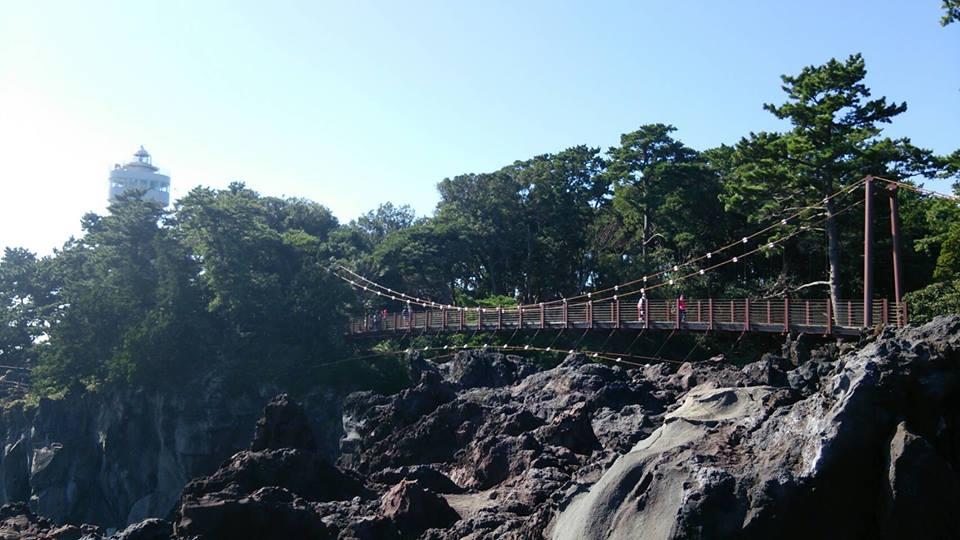 城ケ崎海岸の橋