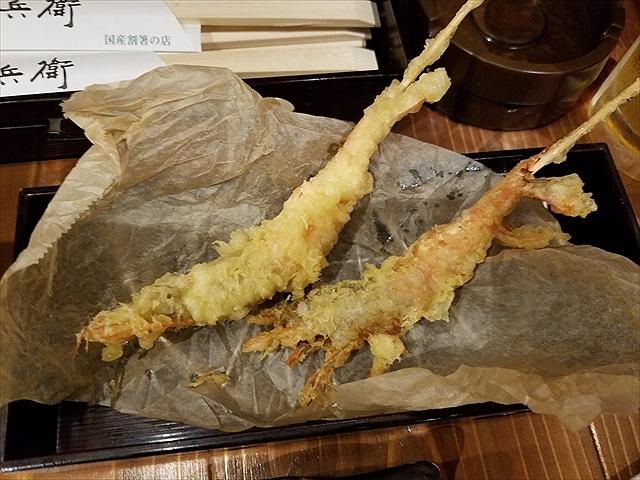 20180924_115749_R 南蛮海老の串天、市販の天ぷら粉の味