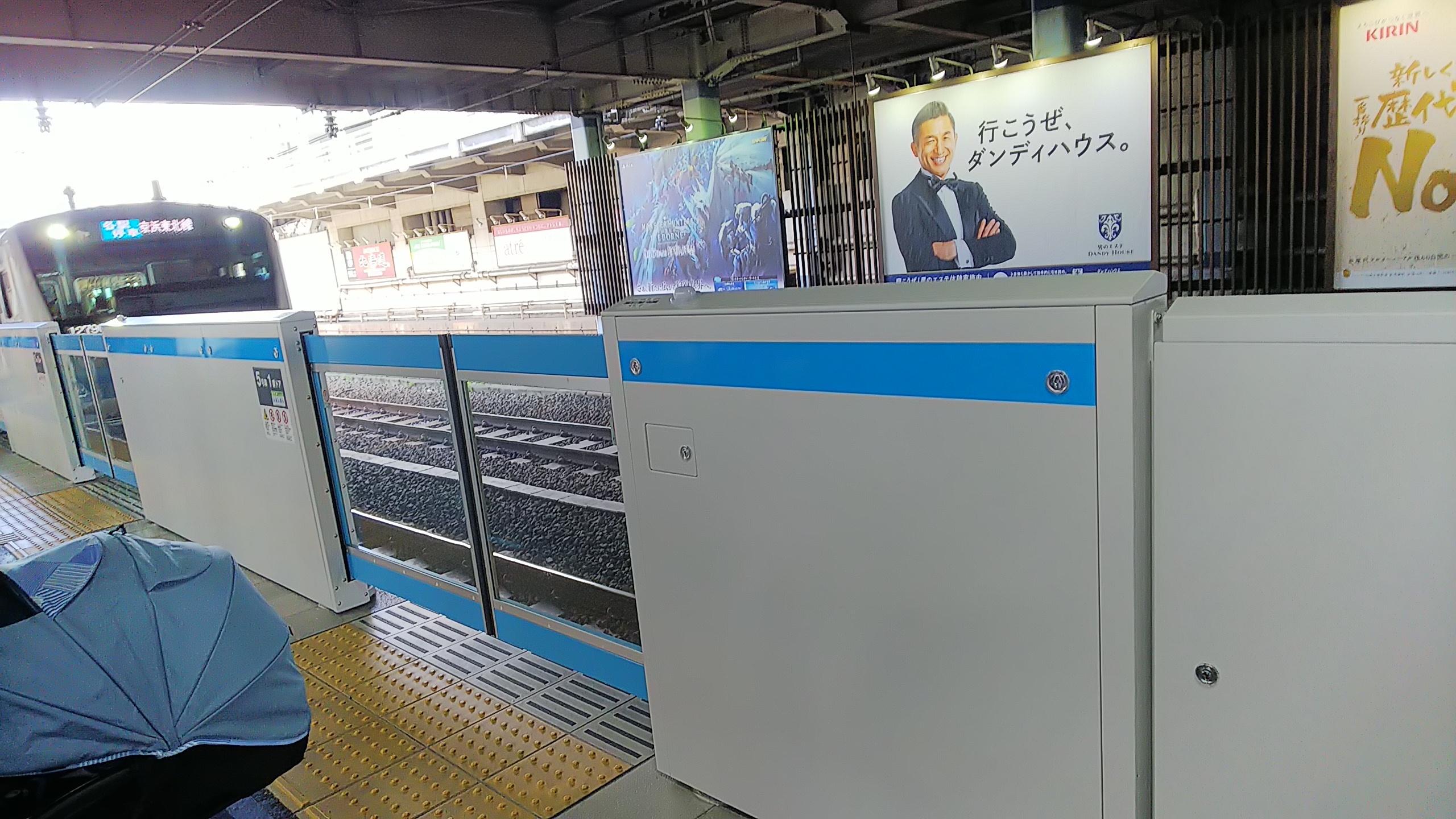 大森駅ホームドア