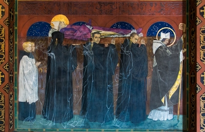Funeral Procession of St Odilon