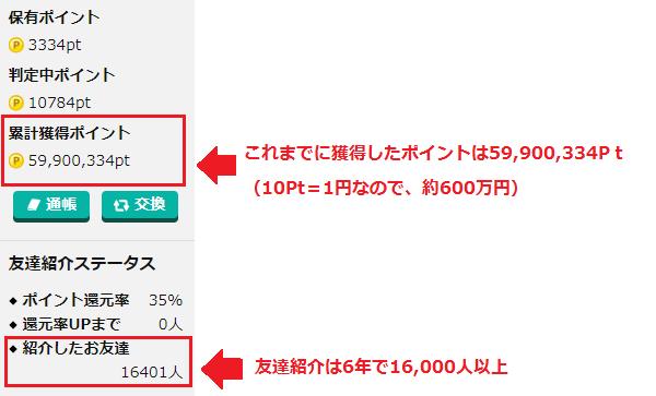 げん玉の友達獲得状況20181124