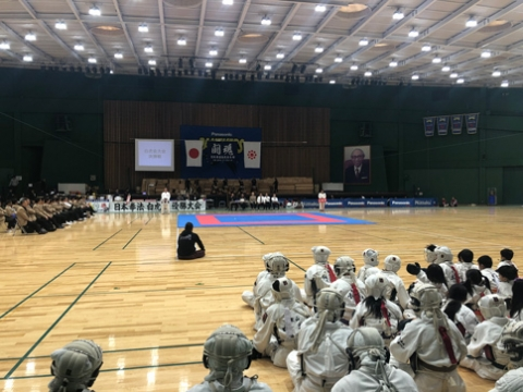 第24回日本拳法白虎会優勝大会