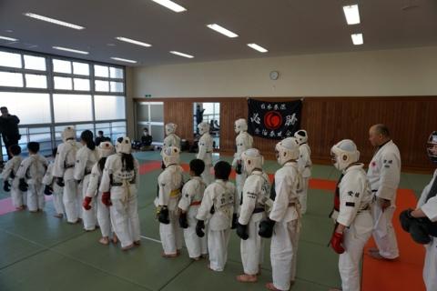 愛媛県日本拳法連盟強化練習・卒団式