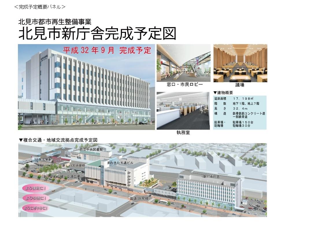 新庁舎完成図