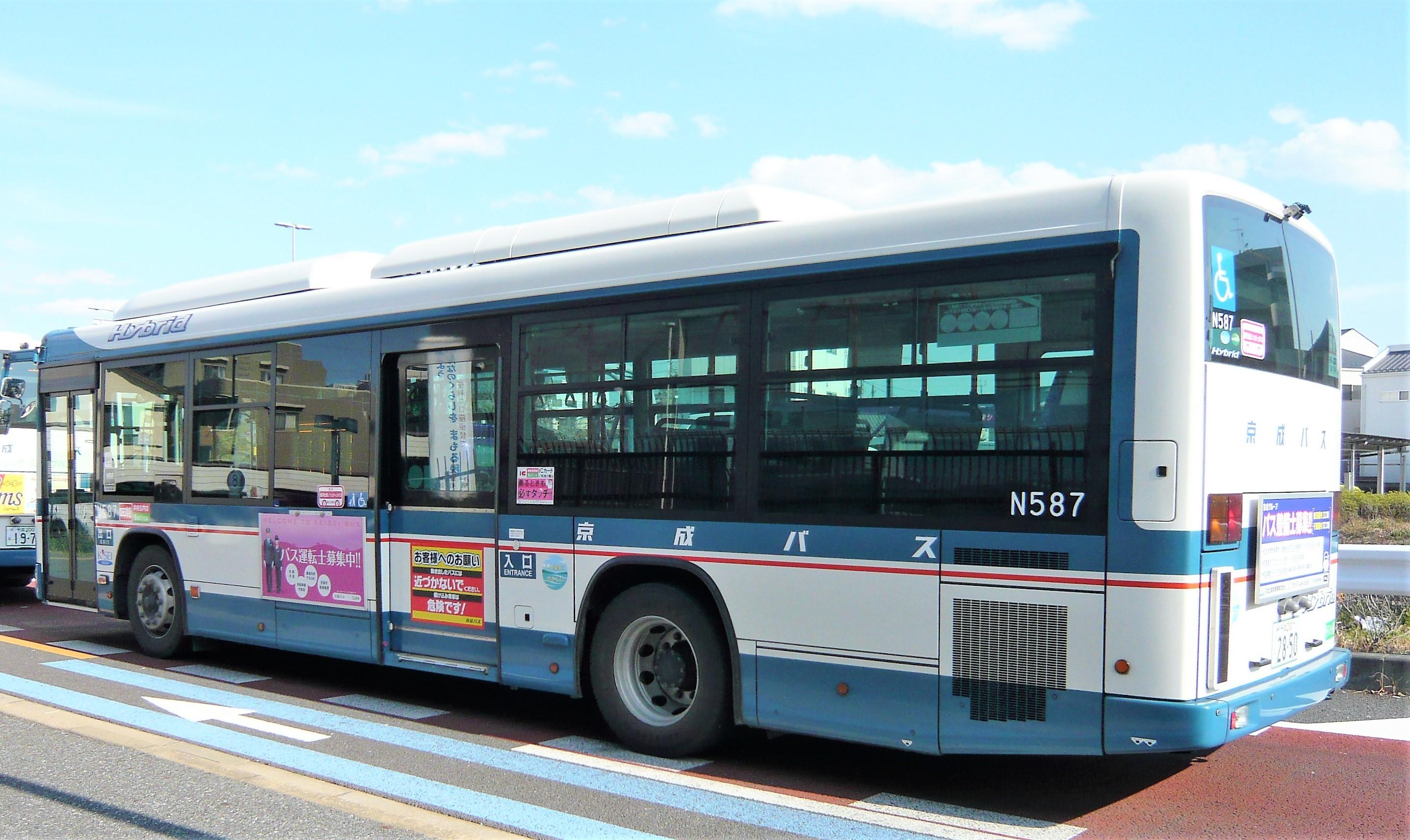 京成ハイブリッドバス2