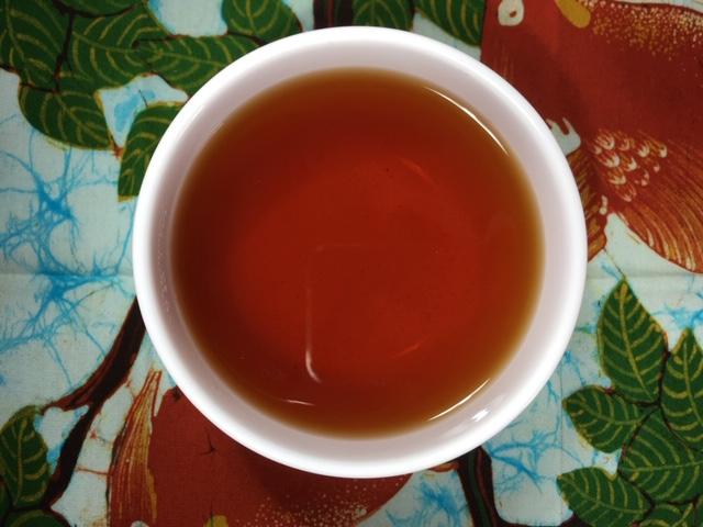 HYSON 茶の色