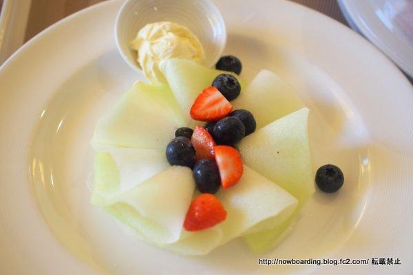 ダイヤモンド・プリンセス デラックスシャンパン・ブレックファスト 朝食 感想ブログ